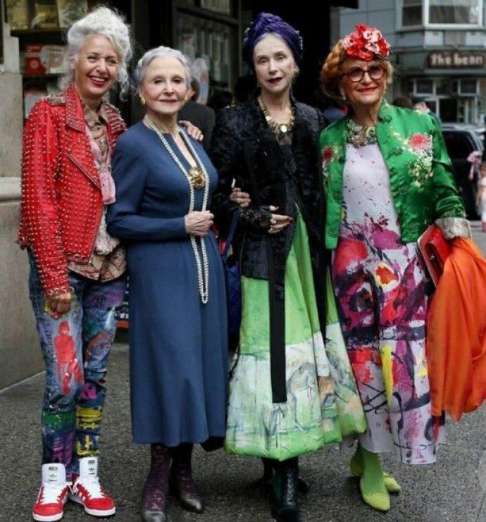 Модные и стильные дамы