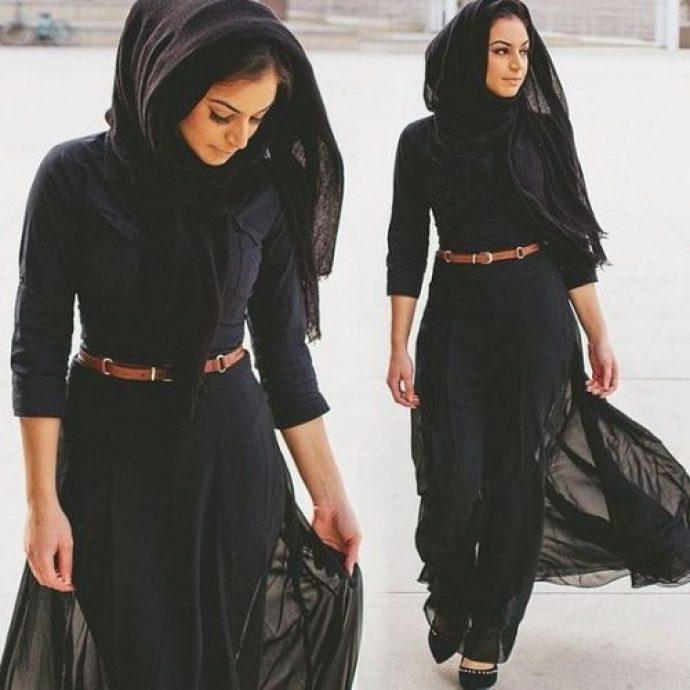 Стильная девушка мусульманка