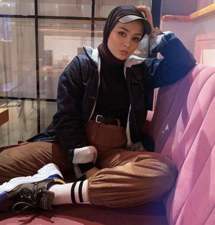 Стильная мусульманка