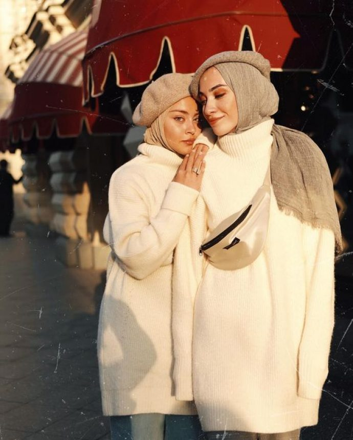 Стильные девушки мусульманки