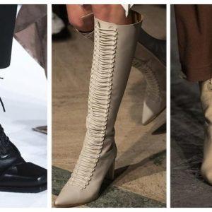 стильные сапоги 2020