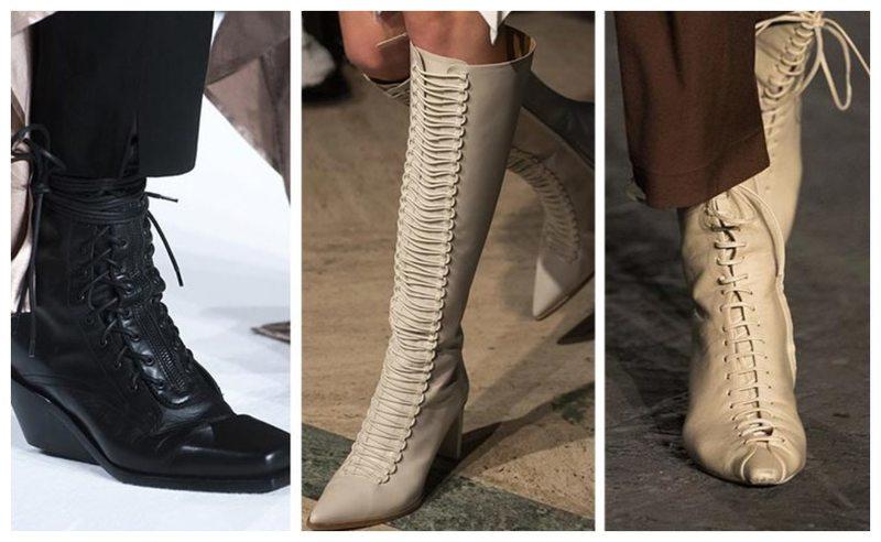 Какие сапоги будут модны в 2020: стильные варианты от разных брендов