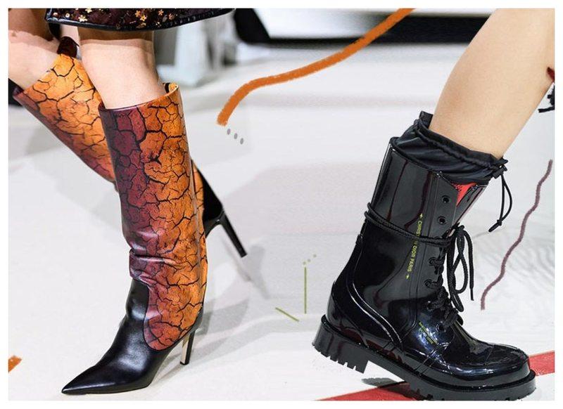 Модная женская обувь осень-зима 2019–2020 (фото)