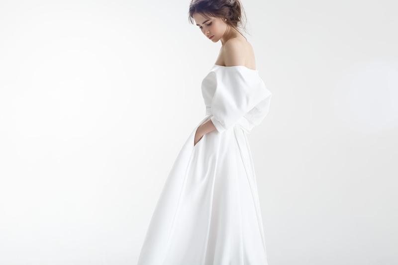 25 прекрасных свадебных нарядов с карманами для современных невест