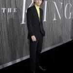 Тимоти Шаламе на презентации ленты «Король» в Нью-Йорке