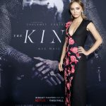 Лили-Роуз Депп позирует на премьере фильма «Король»