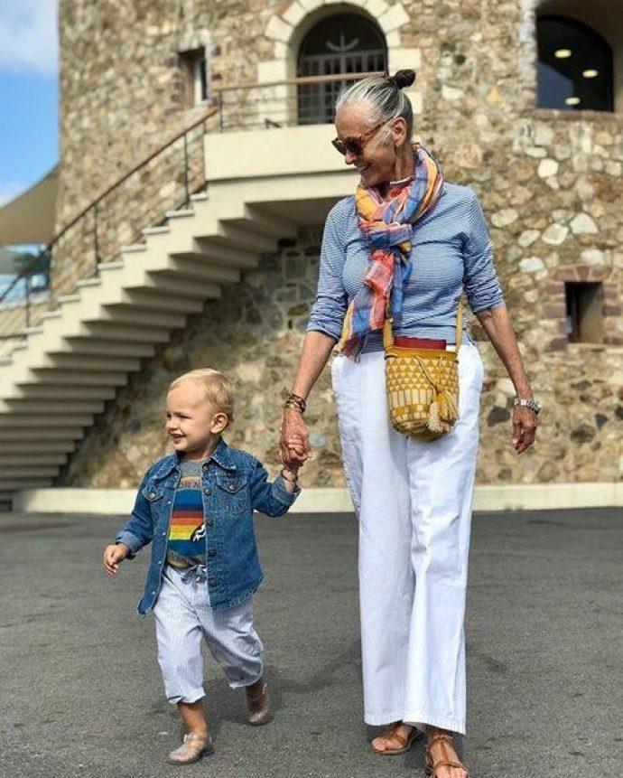 Модная бабушка