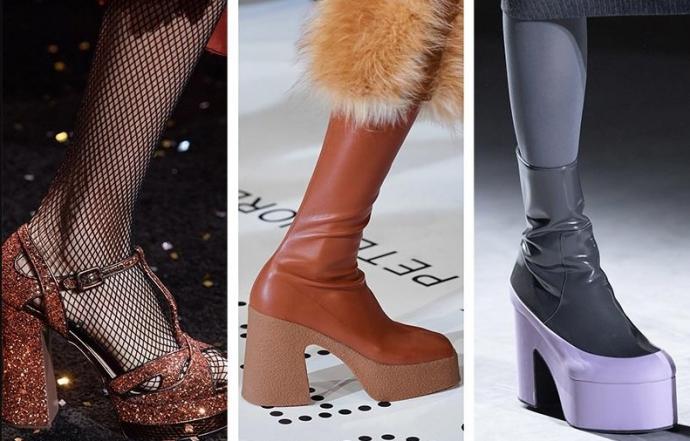 Модная женская обувь осень-зима 2020