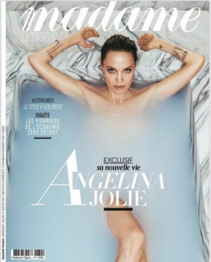 Анджелина Джоли на обложке журнала