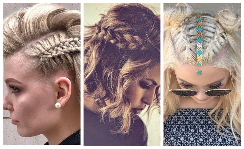 18 примеров того, что на коротких волосах косички смотрятся не менее эффектно, чем на длинных