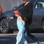 Мила Кунис с пятилетней дочкой