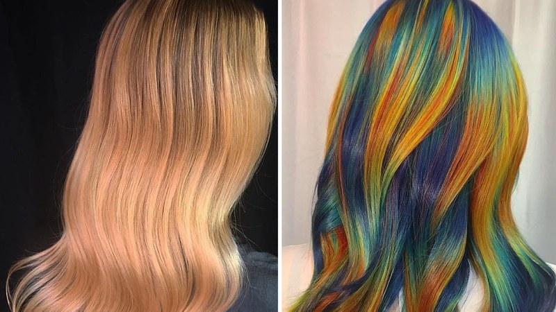 Когда не обделён креативом и руки из того места: 40 примеров художественного колорирования волос от Урсулы Гофф