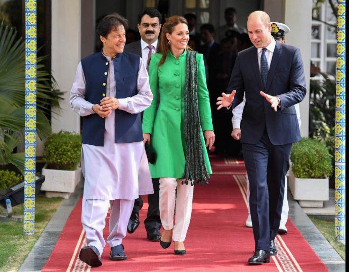 Принц Уильям и Кейт Миддлтон в Пакистане