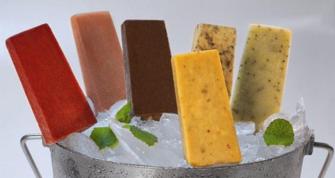 Мексиканское мороженое Палетас
